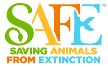 Image of the logo SAFE Saving Animals From Extinction