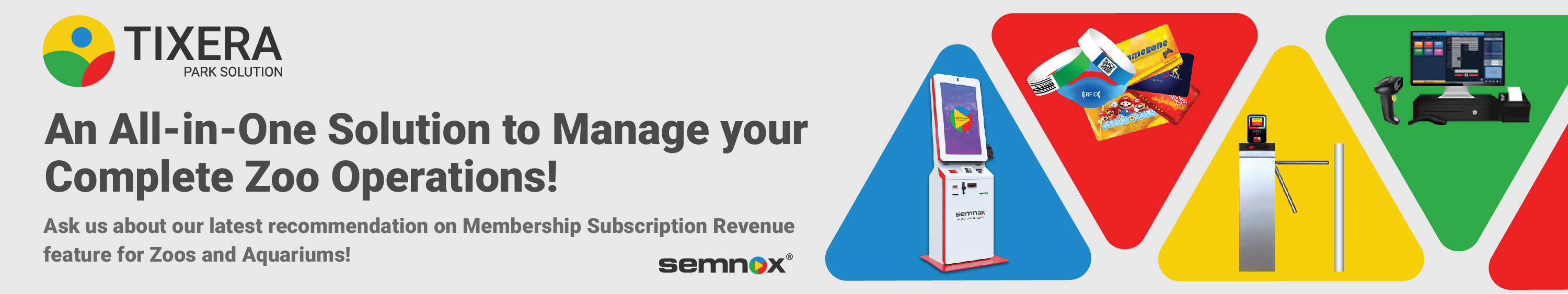Semnox: An all-in-one solution to manage your complete zoo operations.
