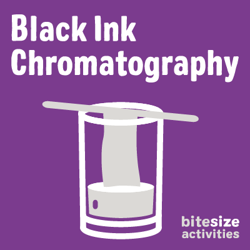Black ink chromatography