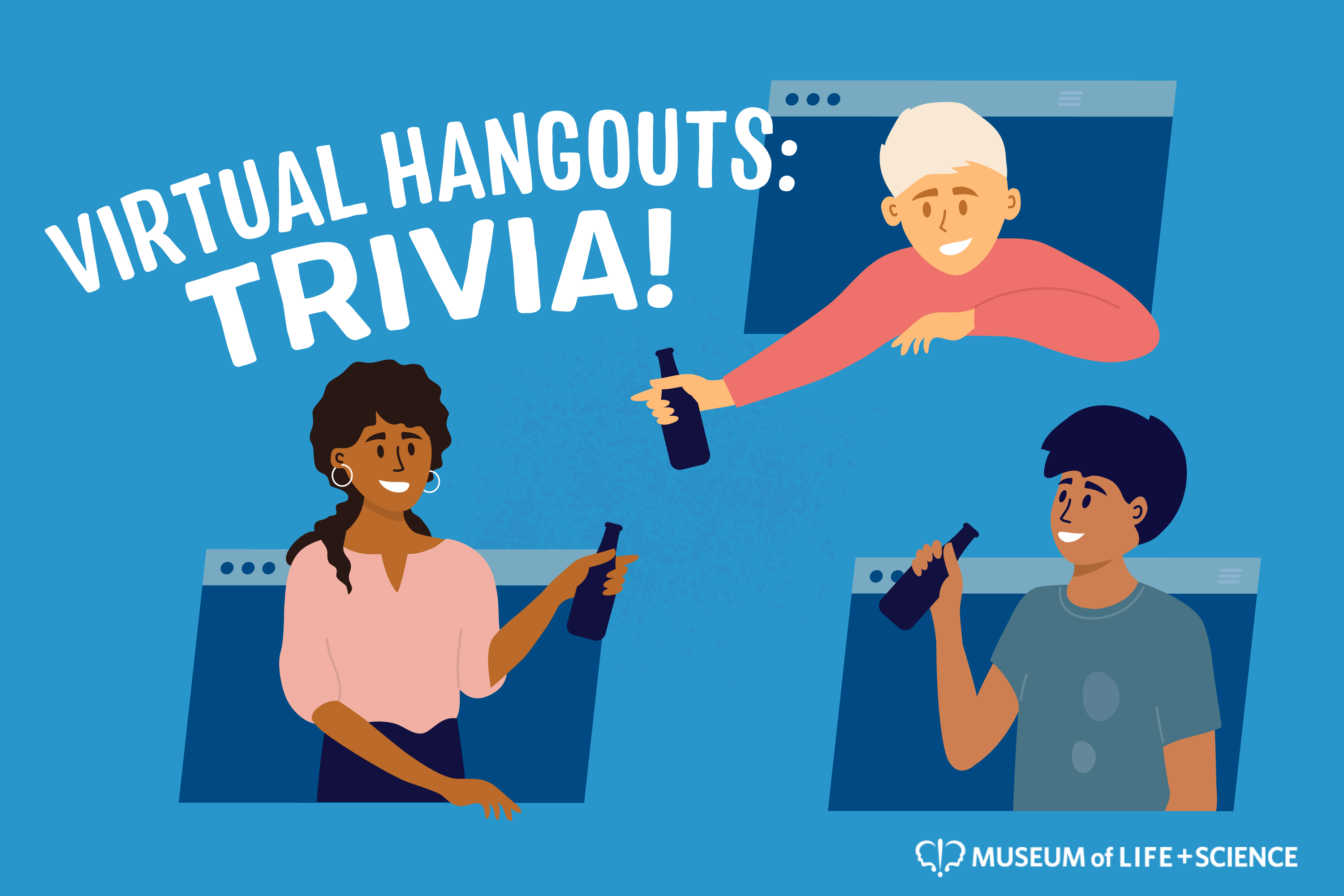Graphic for Virtual Hangouts