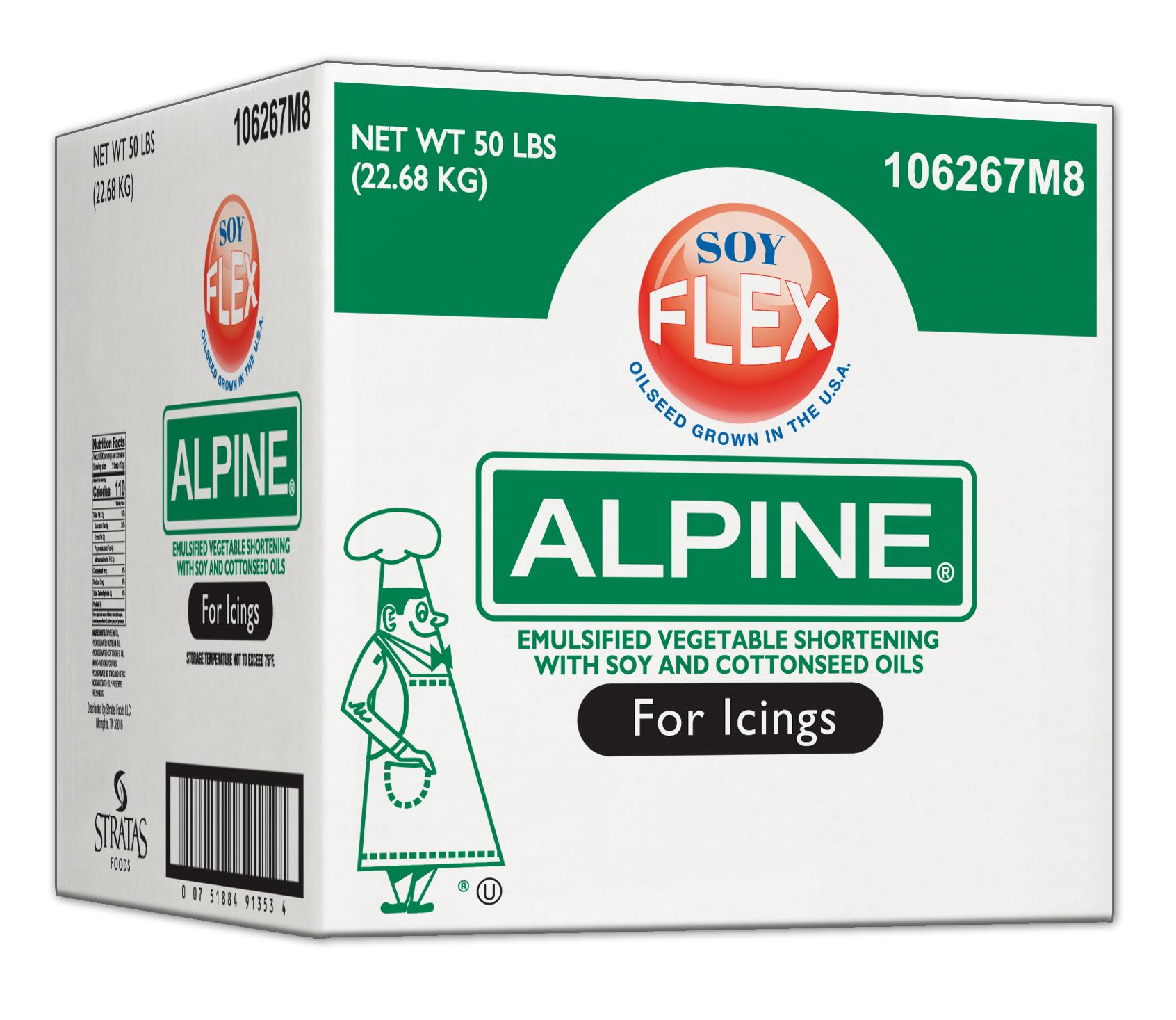 Alpine Soy Flex 174 Icing Shortening