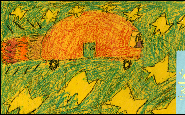 Alivia Moore | Gold Ribbon | Wallace Elementary School | Kokomo | First Grade