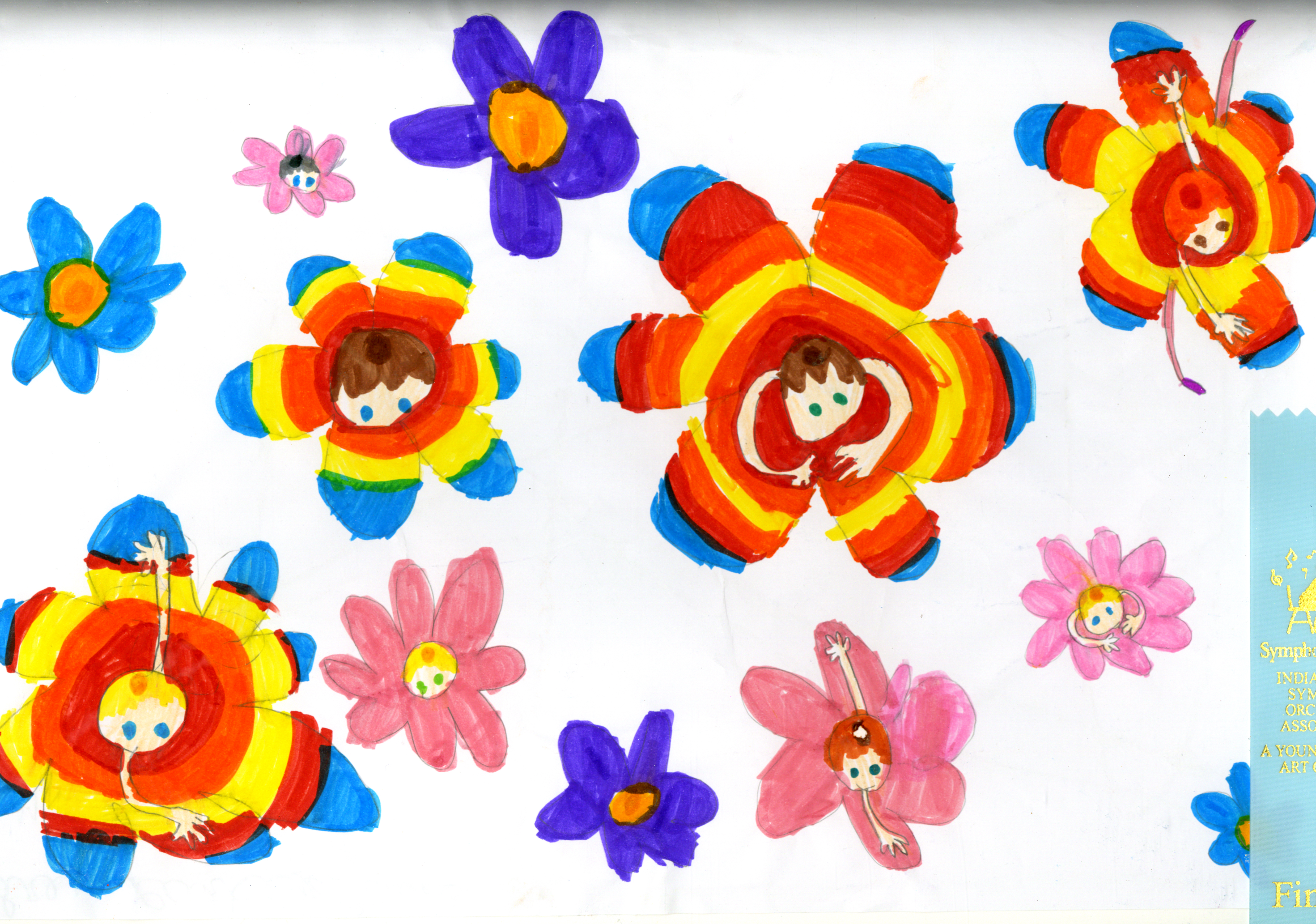 Audrey Parker | Finalist | Honeywell Home School Art | Wabash | Third Grade