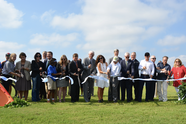 Heart of the Park Ribbon Cutting - 9.01.16