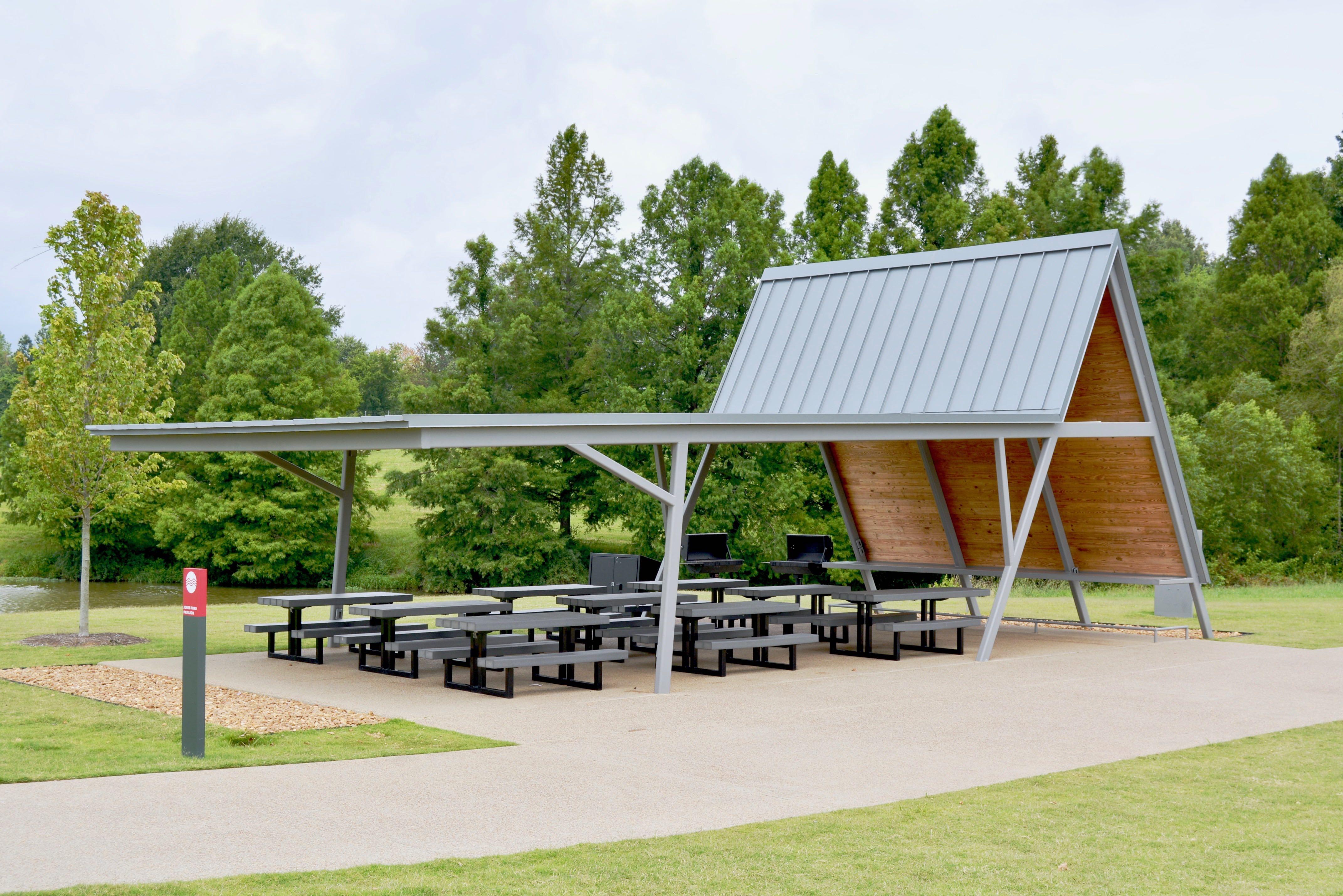 Picnic Pavilions Memphis Tn Shelby Farms Park
