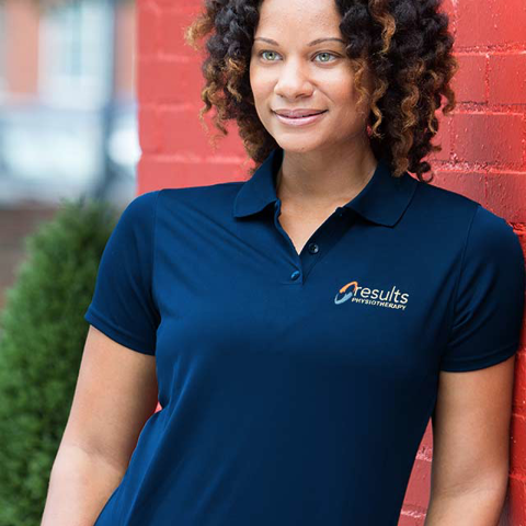 Results Polo- Women's (NAVY BLUE)