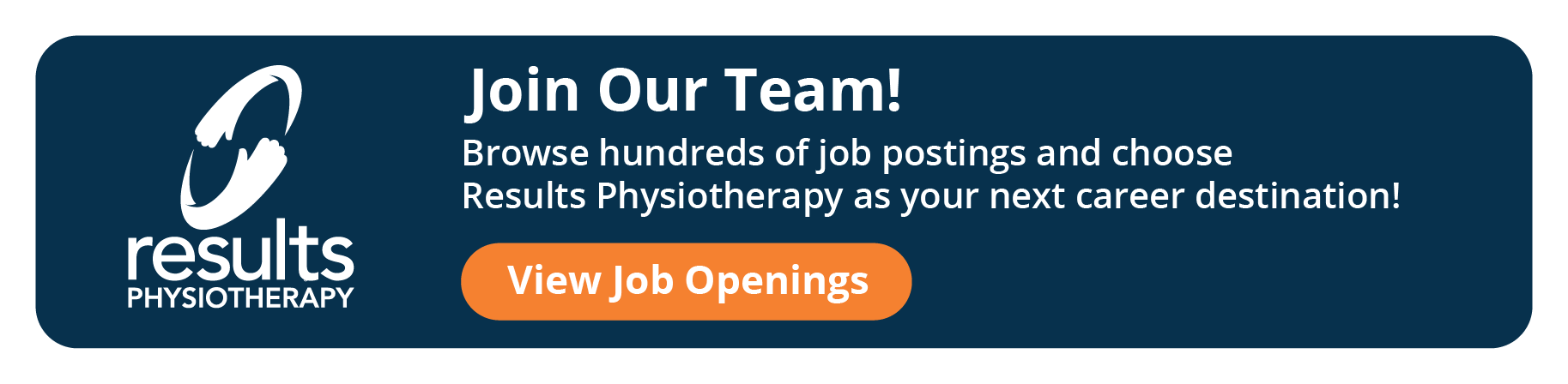 Join Our Team - Results Physiotherapy