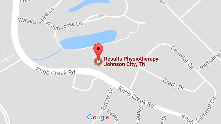 Map - Results Physiotherapy Johnson City, Tennessee