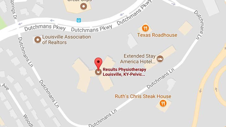 Map - Results Physiotherapy Louisville, Kentucky