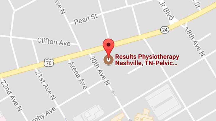 Map - Results Physiotherapy Nashville, Tennessee