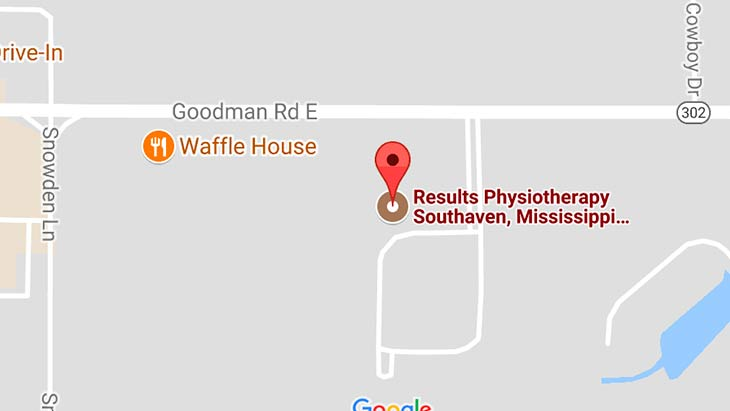 Map - Results Physiotherapy Southaven, Mississippi