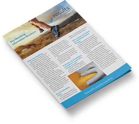 Results Physiotherapy Dry Needling brochure cover