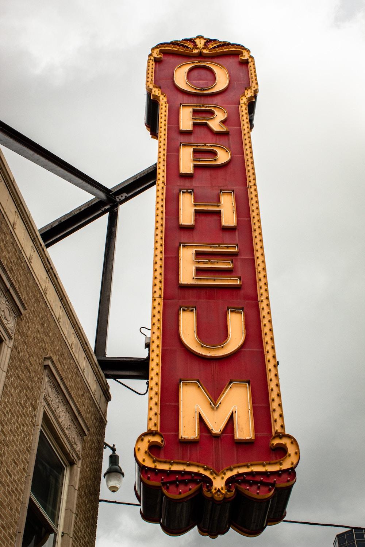 Orpheum Memphis sign