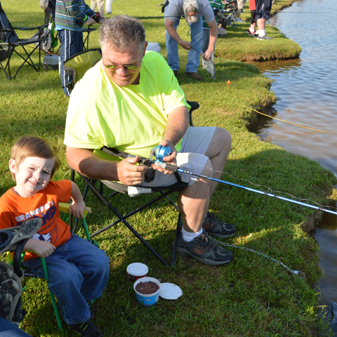 Youth Fishing Rodeo Event