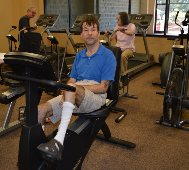 Gym for Disabled Adults