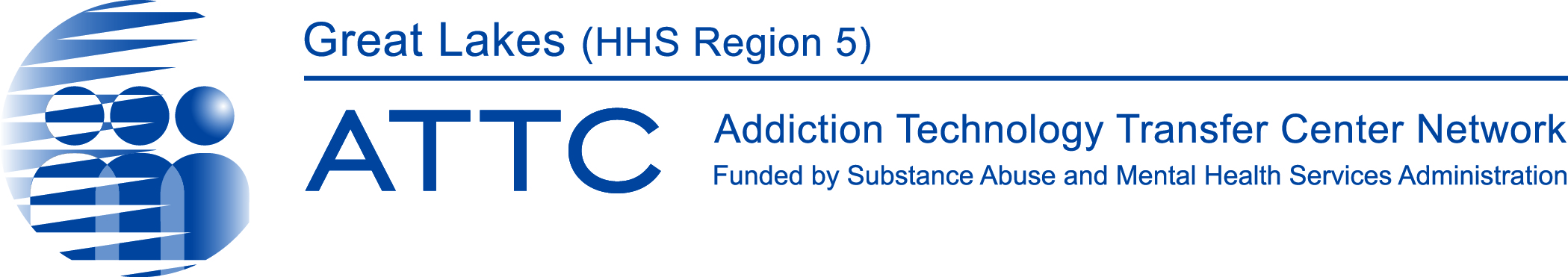 Great Lake (HHS Region 5) Addiction Technology Transfer Center logo