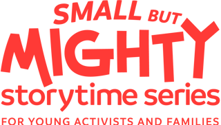 Small but Mighty Storytime Banner