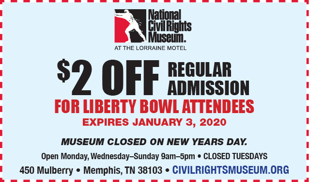 Civil Rights Museum Coupon