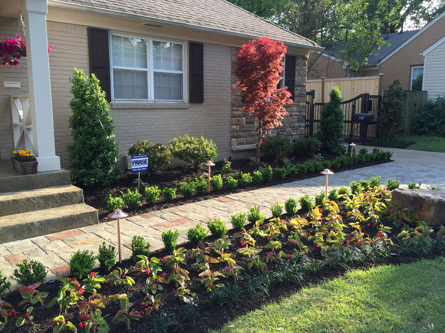 Memphis landscape contractors and design