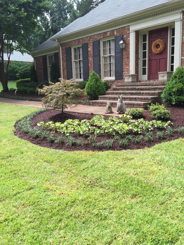 Plants flower beds memphis tn mid south irrigation for Landscape design memphis