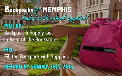 Backpacks for Memphis