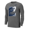 Football Nike Dri-Fit Cotton Long Sleeve Tee