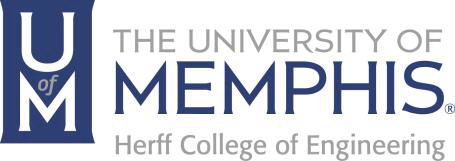 Logo of University of Memphis Herff College of Engineering