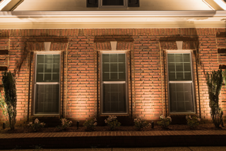 Outdoor Lighting on Front of House