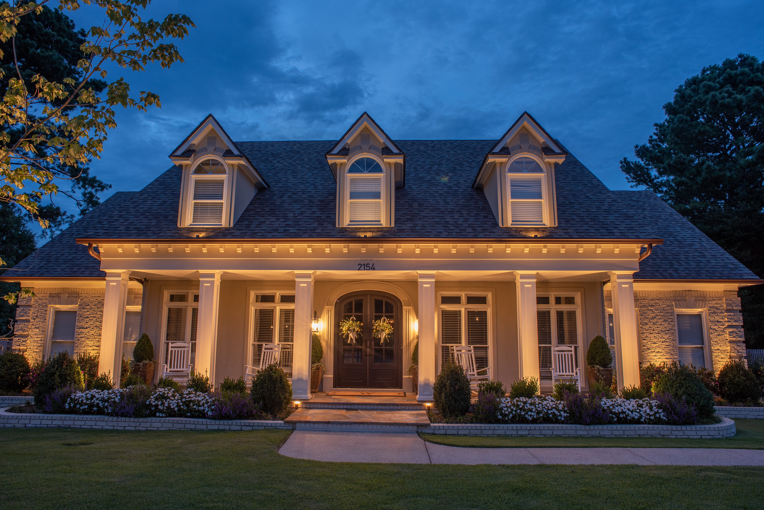 Architectural Lighting on House