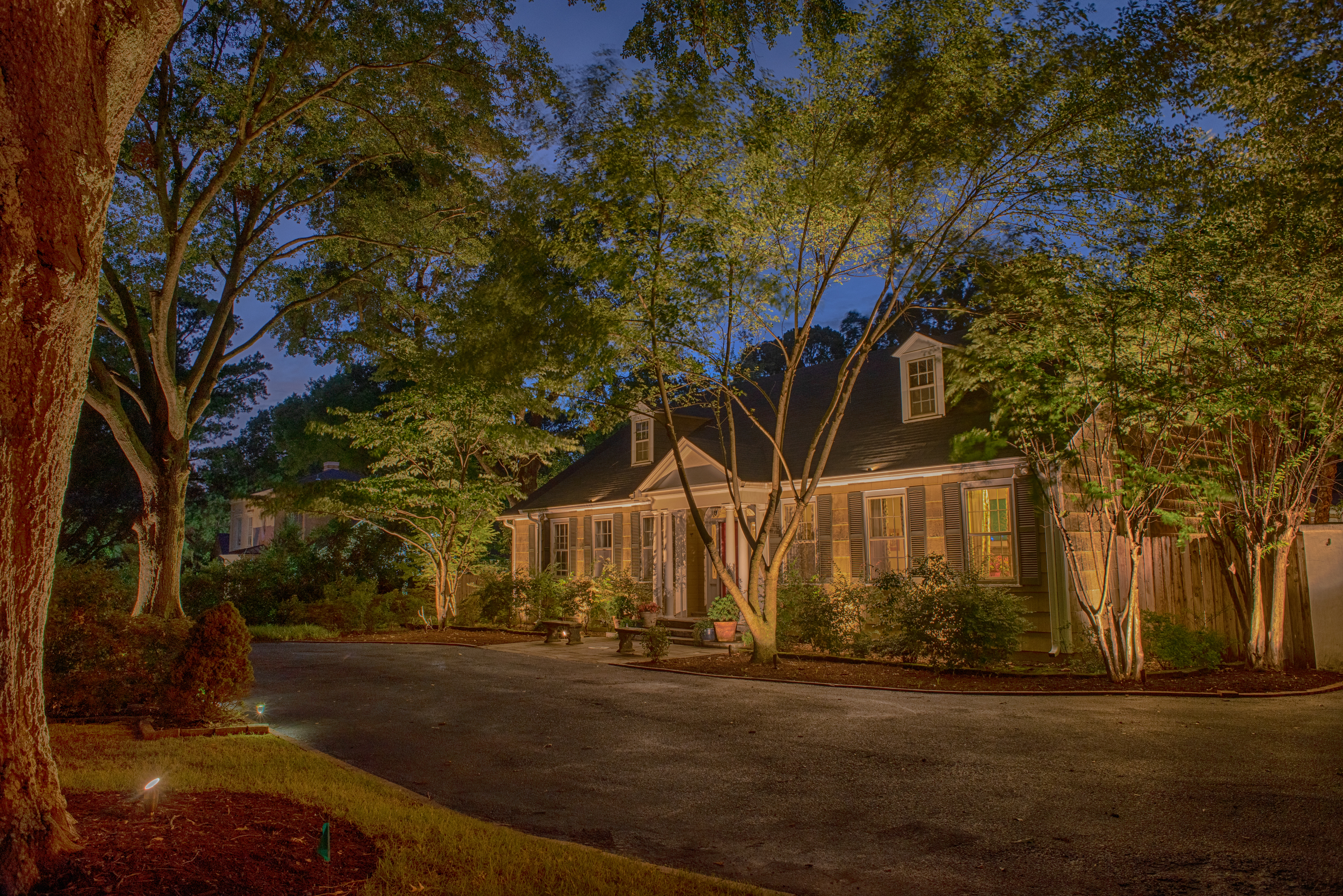 Outdoor Security Lighting on House