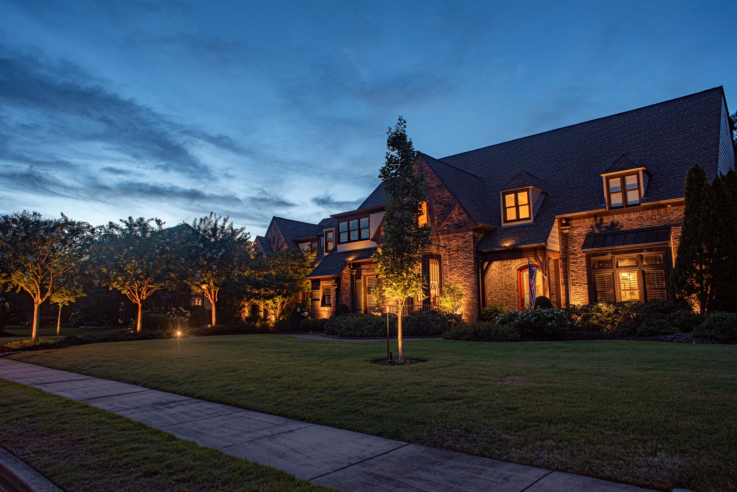 Landscape Lighting in Memphis, TN by Mid South Night Lights