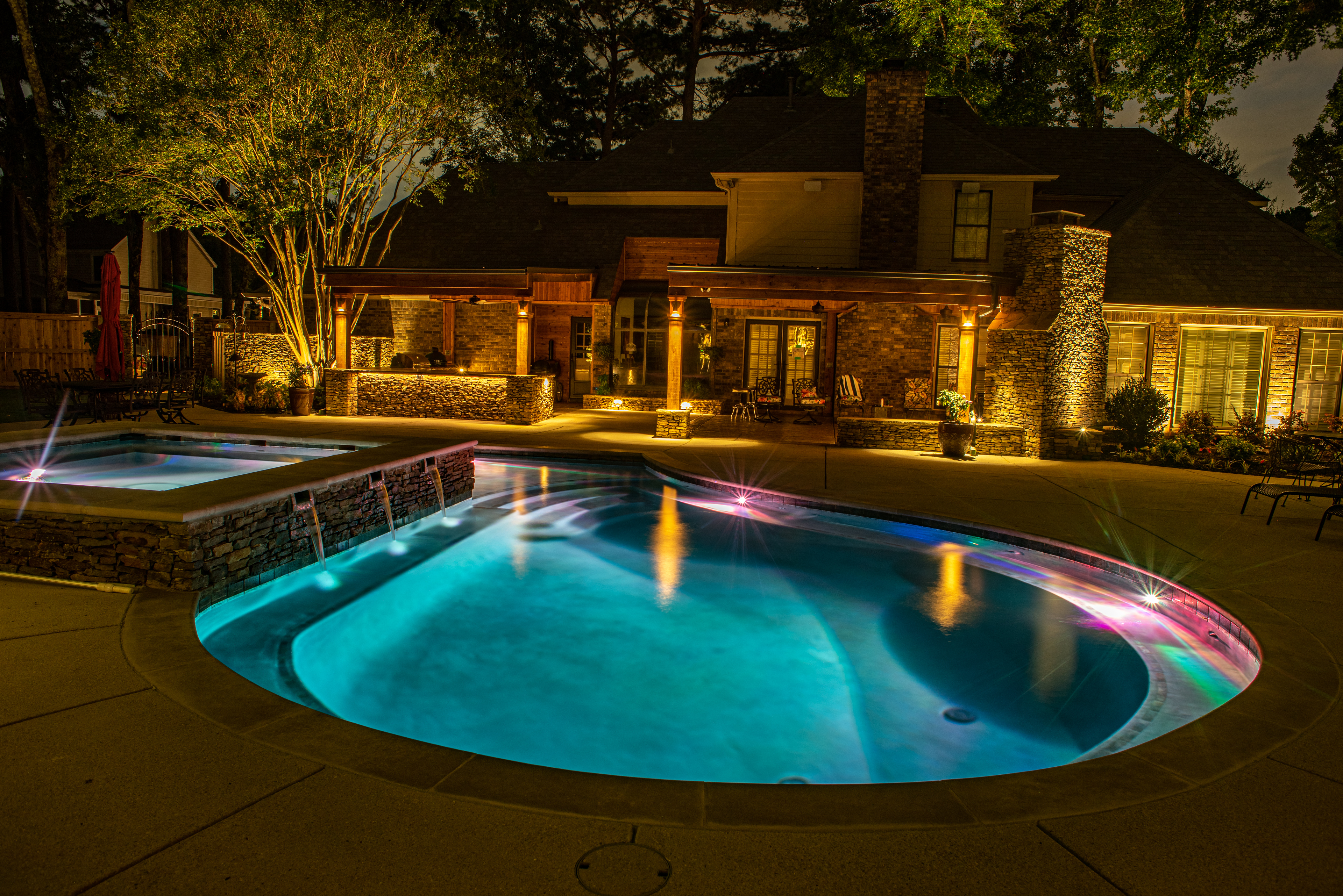 Architectural Lighting for Vacation Home