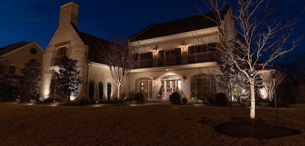 Outdoor Architecture Lighting on House