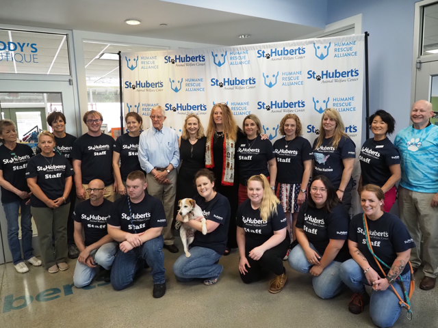 Humane Rescue Alliance St Hubert's Merger Announcement