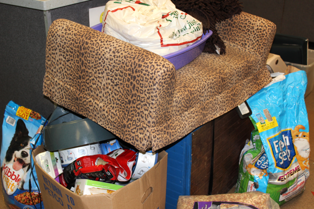 Donations at New York Avenue adoption center