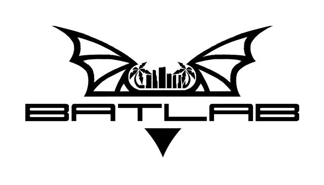 The Miami bat lab logo