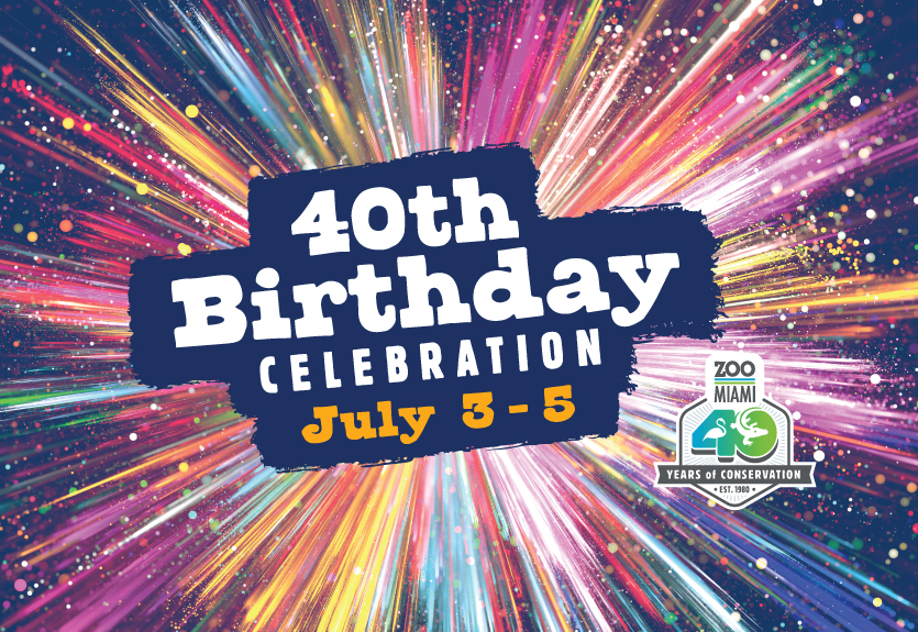 Featured Event Image for Zoo Miami Turns 40!