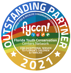 Florida Youth Conservation Centers Network Outstanding Partner Logo 2021