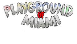 Playground of Miami Logo