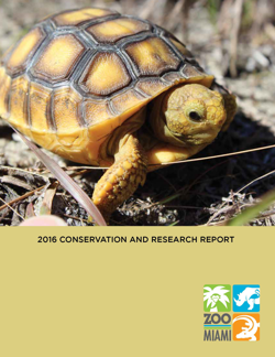 2016 Zoo Miami Conservation and Research Annual Report
