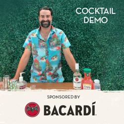 Bartender Cocktail Demo Button