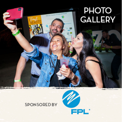 People Taking Selfie - Photo Gallery Button
