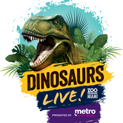 dinosaurs live at zoo miami