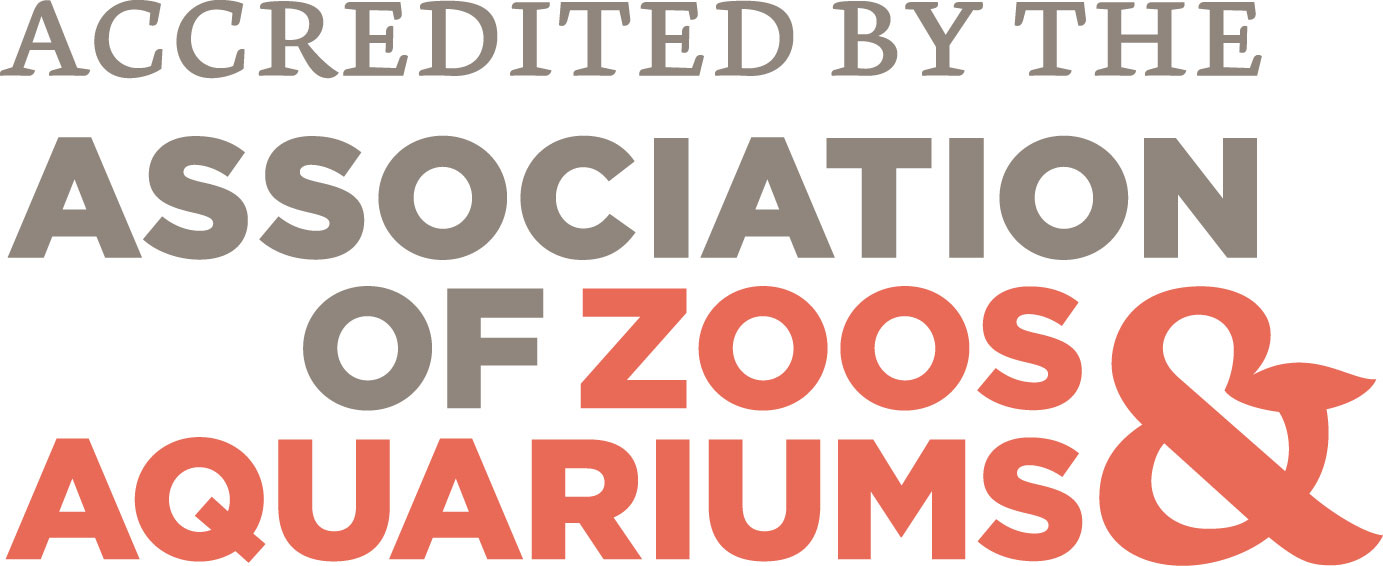 accredited by the AZA logo