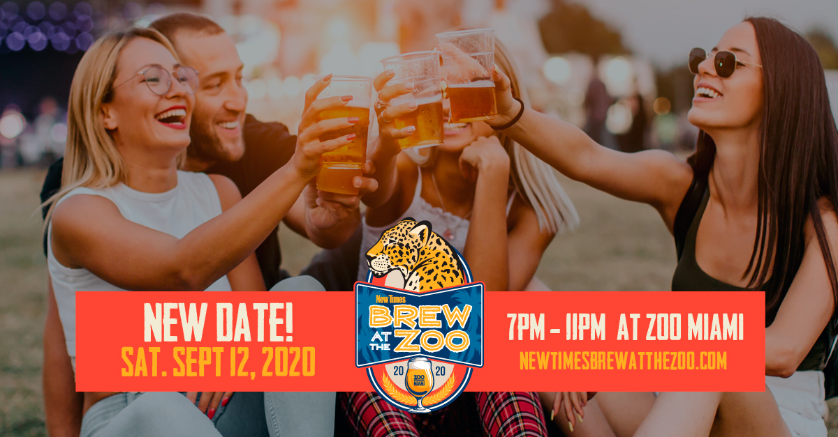 Featured Event Image for Brew at the Zoo - NEW DATE!