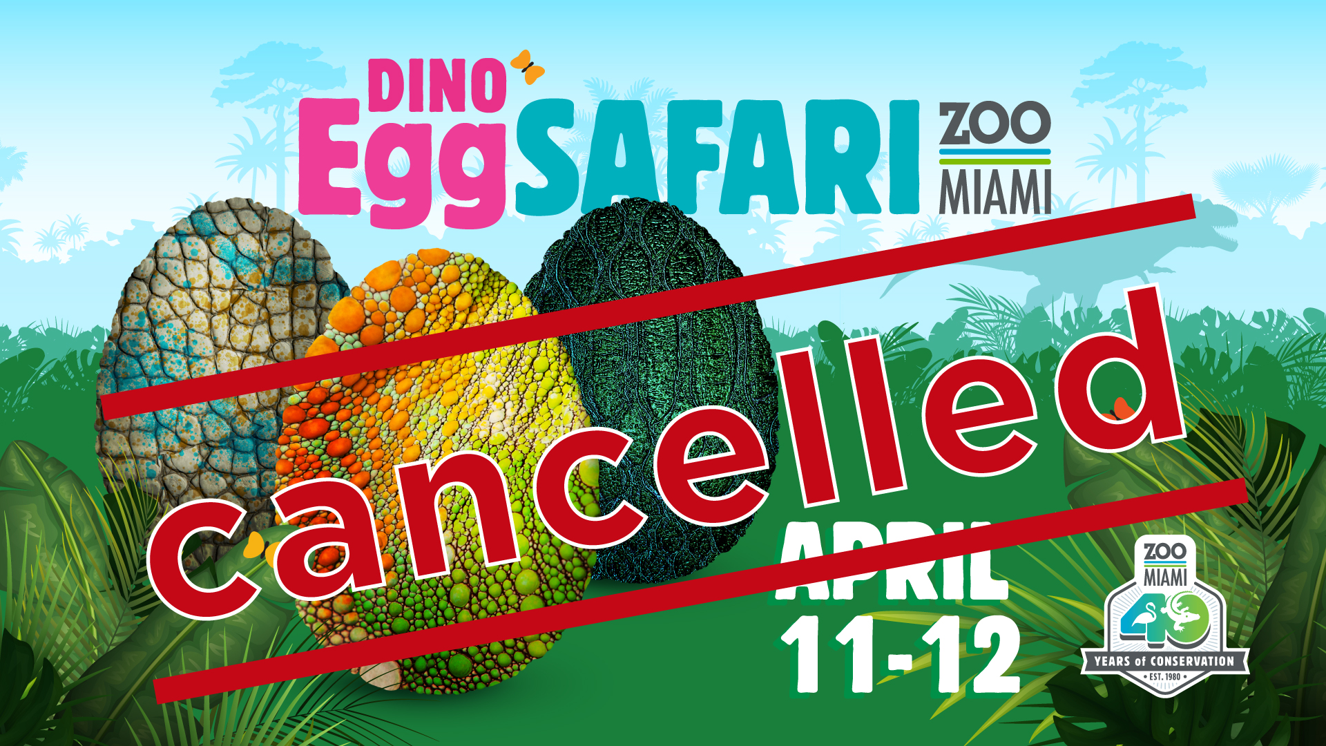 Dino Egg Safari - CANCELLED! image