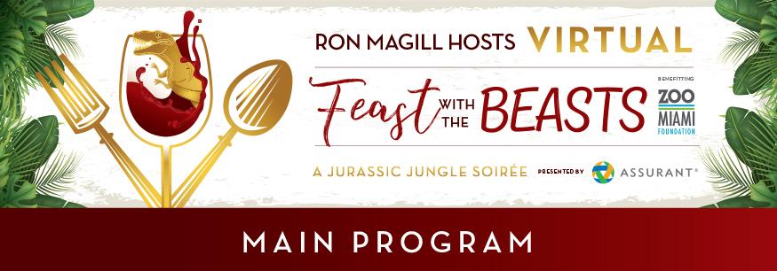 Virtual Feast with the Beasts Main Program Header