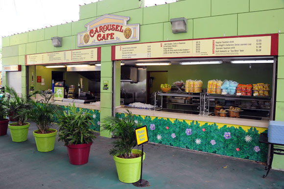 Carousel Cafe at Zoo Miami