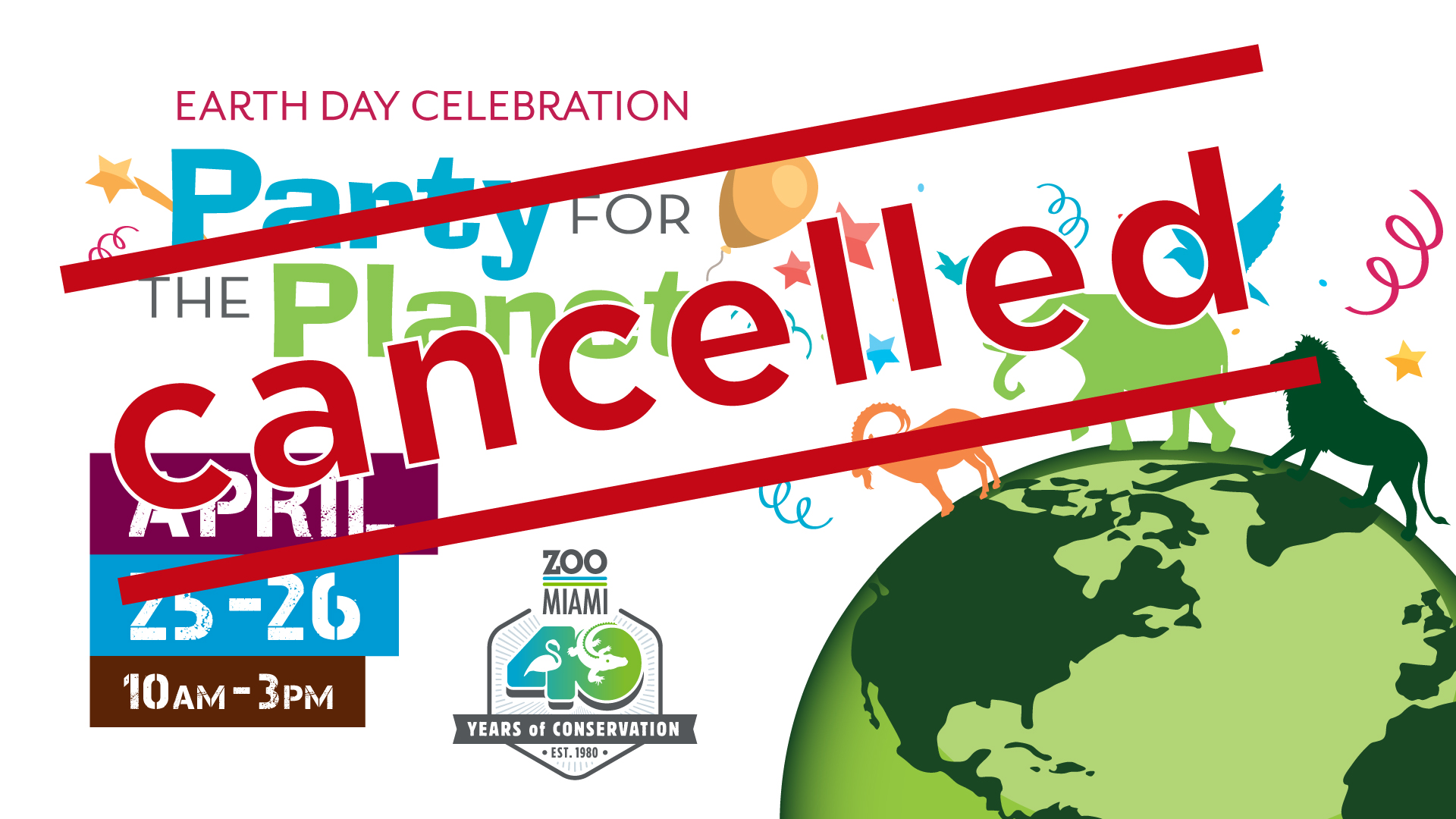 Party for the Planet - CANCELLED! image