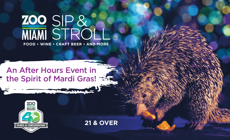 Featured Event Image for Sip & Stroll Mardi Gras